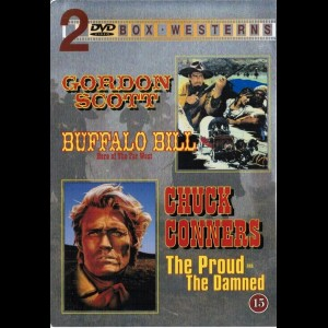Buffalo Bill (1964) + The Proud And The Damned  -  2 Disc