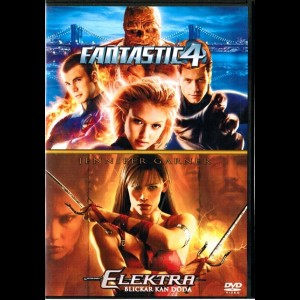 Fantastic 4 + Elektra  -  2 disc