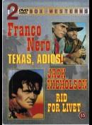 Texas, Adios! + Rid For Livet  -  2 disc
