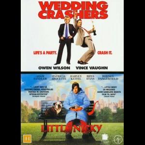 Wedding Crashers + Little Nicky  -  2 disc