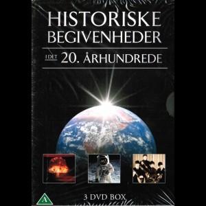 Historiske Begivenheder I det 20. Århundrede  -  3 disc