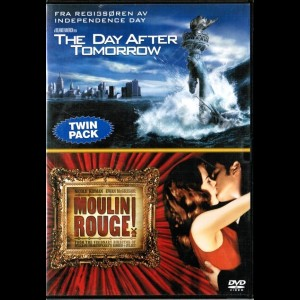 The Day After Tomorrow + Moulin Rouge  -  2 disc