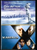Day After Tomorrow + X-Men 2  -  2 disc