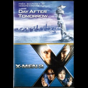 The Day After Tomorrow + X-Men 2  -  2 disc