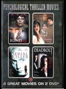 4 Psychological Thriller Movies  -  2 disc