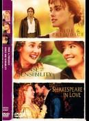 Pride & Prejudice + Sense And Sensibility + Shakespeare In Love