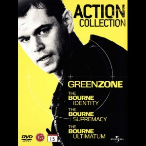 Action Collection: Green Zone + The Bourne Trilogy  -  4 disc