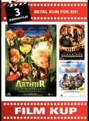 Børnefilm 1: Arthur Og Minimoyserne / Alex Rider: Stormbreaker / Valiant