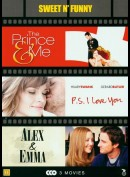 The Prince & Me + P.S. I Love You + Alex & Emma  +  3 disc
