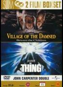 Village Of The Damned + The Thing (1982)  -  2 disc