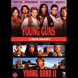Young Guns 1 + 2  -  2 disc