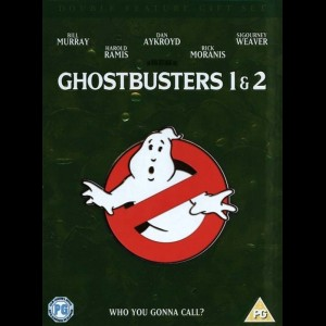 Ghostbusters 1 + 2 box  -  2 disc
