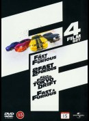 The Fast And The Furious 1-4 Boks