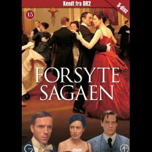 Forsyte Sagaen  -  5 disc