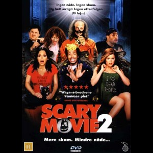 u14258 Scary Movie 2 (UDEN COVER)