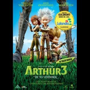 u13463 Arthur 3: De To Verdener (UDEN COVER)