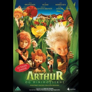 u2041 Arthur Og Minimoyserne (UDEN COVER)