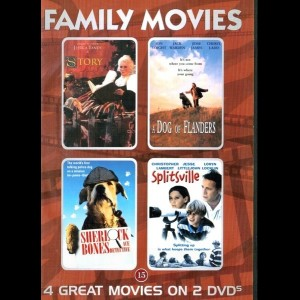 u13977 Family Movies (4 Film) (UDEN COVER)