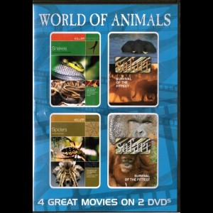 u45 World Of Animals (UDEN COVER)