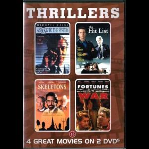 u14902 Thrillers (4 Film) (UDEN COVER)