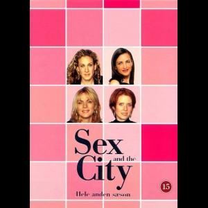 u10277 Sex And The City: Sæson 2 (UDEN COVER)