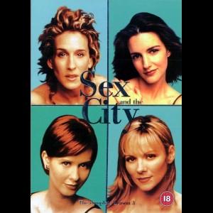 u2172 Sex And The City: Sæson 3 (UDEN COVER)