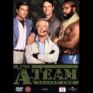 -4373 The A-Team: Sæson 2 (MANGLER YDERSTE COVER)