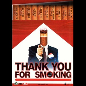 u2330 Thank You for Smoking (UDEN COVER)