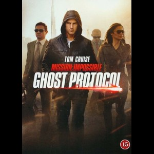 u11005 Mission Impossible 4: Ghost Protocol (UDEN COVER)