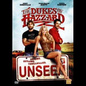 u17268 The Dukes Of Hazzard (UDEN COVER)