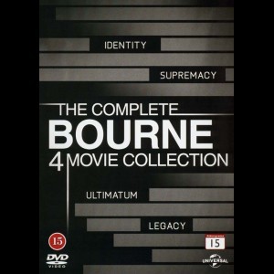 Bourne: The Complete 4-Movie Collection