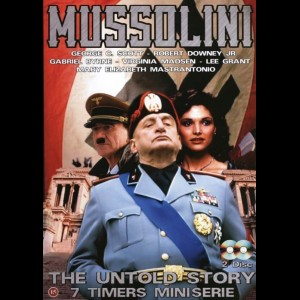 Mussolini: The Untold Story  -  2 disc (7 timer miniserie)