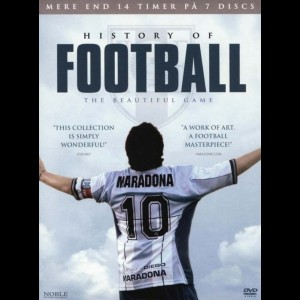 History Of Football: The Beautiful Game  -  7 disc