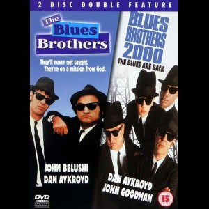 The Blues Brothers + Blues Brothers 2000  -  2 disc