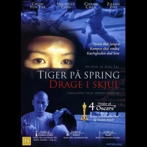 u4414 Tiger På Spring, Drage I Skjul (UDEN DANSKE TEKSTER) (UDEN COVER)