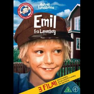 Emil Fra Lønneberg Boks  -  3 disc