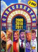 Cirkusrevyen 2009 + 2010 + 2011 Boks  -  3 disc