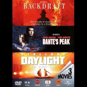 Backdraft + Dantes Peak + Daylight  -  3 disc