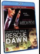 American Psycho + Rescue Dawn  -  2 disc