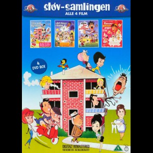Støv-Samlingen  -  4 disc (alle 4 film)