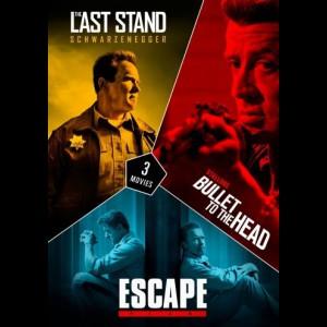 Stallone & Schwarzenegger Boks  -  3 disc