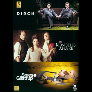 Dirch + En Kongelig Affære + Spies & Glistrup  -  3 disc