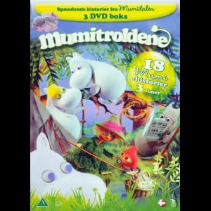 Mumitroldene 1-3  -  3 disc (Indeholder 18 Mumi-historier)