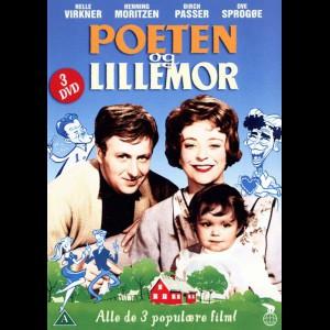Poeten Og Lillemor Boks  -  3 disc