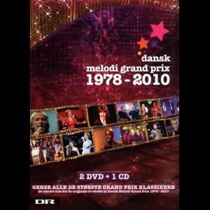 Dansk Melodi Grand Prix: 1978-2010  -  2 DVD + 1 CD