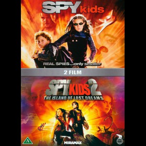 Spy Kids + Spy Kids 2: The Island Of Lost Dreams  -  2 disc