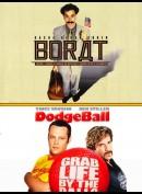 Borat + Dodgeball  -  2 disc