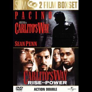 Carlitos Way (Fanget Af Fortiden) + Carlitos Way: Rise To Power  -  2 disc