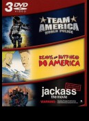 Team America + Beavis & Butthead + Jackass: The Movie  -  3 disc