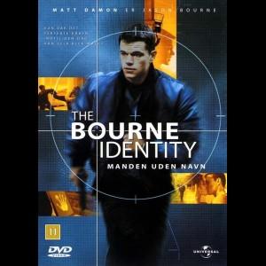 u3268 The Bourne Identity (UDEN COVER)